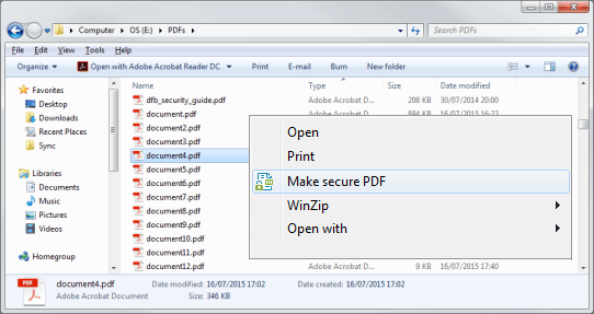 PDF Security: PDF DRM Protection to Secure/Protect PDF Files-Documents
