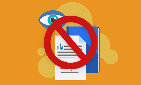 Revoke document access with DRM security