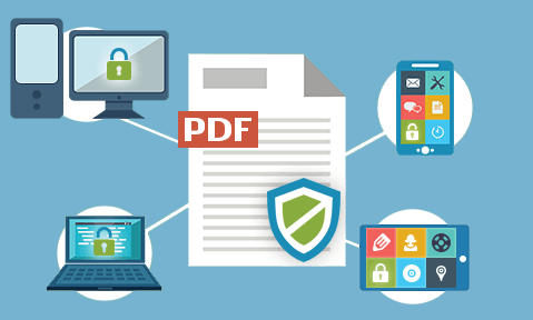 Protect documents - control use with DRM security